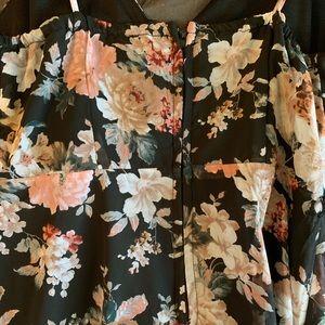 Dresses - Floral High Low Dress